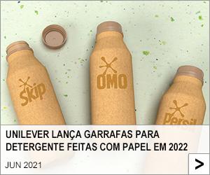 UNILEVER LANÇA GARRAFAS PARA DETERGENTE FEITAS COM PAPEL EM 2022