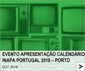 Evento Apresentação Calendário Inapa Portugal 2019 – Porto
