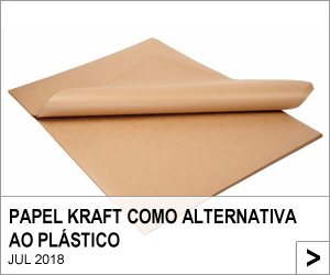 Papel Kraft como alternativa ao plástico