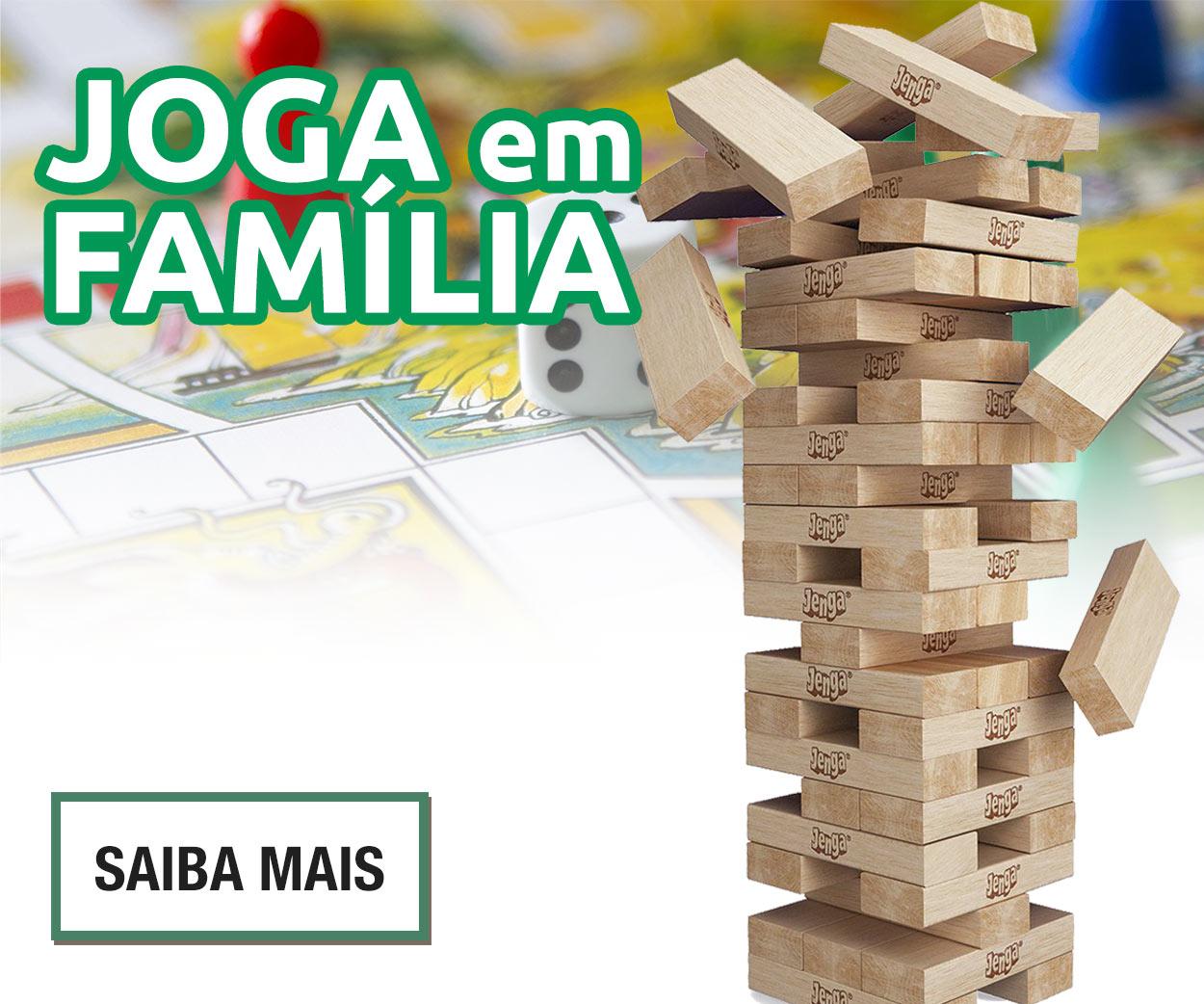 """BASES DA PROMOÇÃO """"Jogos em Família"""""""