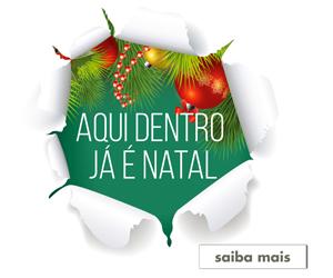 """BASES DA PROMOÇÃO """"Aqui dentro já é Natal"""""""